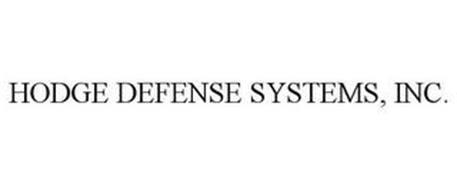 HODGE DEFENSE SYSTEMS, INC.