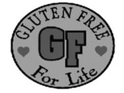 GLUTEN FREE FOR LIFE GF