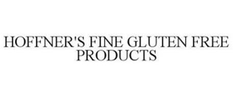 HOFFNER'S FINE GLUTEN FREE PRODUCTS