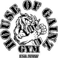 HOUSE OF GAINZ GYM EST.MMXV