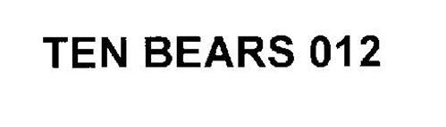 TEN BEARS 012