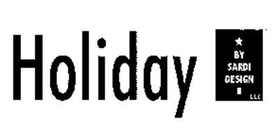 HOLIDAY BY SARDI DESIGN LLC