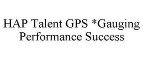 HAP TALENT GPS GAUGING PERFORMANCE SUCCESS
