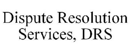 DISPUTE RESOLUTION SERVICES, DRS