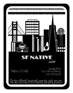 SF NATIVE CARD NATIVE #000415 SCOTT FREE 123 BROADWAY S. F. CA 94133 GO TO SFNATIVECARD.ORG TO GET YOURS