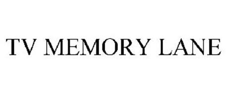 TV MEMORY LANE