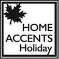 HOME ACCENTS HOLIDAY