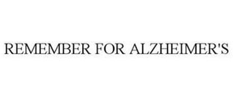 REMEMBER FOR ALZHEIMER'S