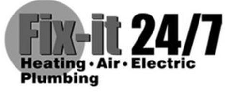 FIX-IT 24/7 HEATING · AIR · ELECTRIC PLUMBING