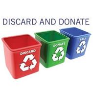 DISCARD AND DONATE  DISCARD DONATE SELL