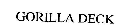Gorilla Deck Trademark Of Homeland Vinyl Products Inc