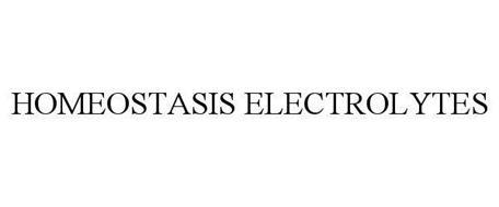 HOMEOSTASIS ELECTROLYTES