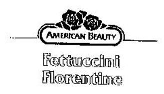 AMERICAN BEAUTY FETTUCCINI FLORENTINE