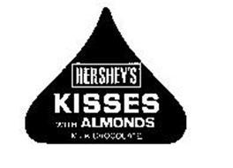 HERSHEY'S KISSES WITH ALMONDS MILK CHOCOLATE