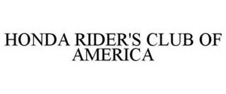HONDA RIDER'S CLUB OF AMERICA