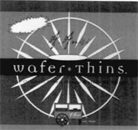 A. ANISI WAFER · THINS THE ORIGINAL HONEY FILLED WAFERS BY ANISI A. ANISI EST. 1925