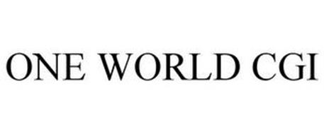 ONE WORLD CGI
