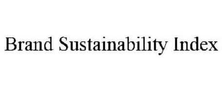 BRAND SUSTAINABILITY INDEX