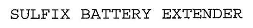 SULFIX BATTERY EXTENDER