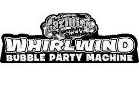 THE ORIGINAL GAZILLION PREMIUM BUBBLES WHIRLWIND BUBBLE PARTY MACHINE