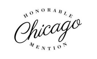 HONORABLE MENTION CHICAGO