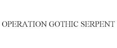 OPERATION GOTHIC SERPENT