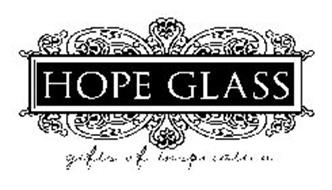 HOPE GLASS GIFTS OF INSPIRATION
