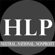 HLP NEUTRAL. NATIONAL. NONPROFIT