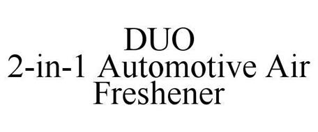 DUO 2-IN-1 AUTOMOTIVE AIR FRESHENER