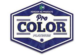 H HORIZON AG-PRODUCTS PRO COLOR PLATINUM