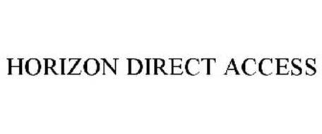 HORIZON DIRECT ACCESS Trademark of Horizon Healthcare Services, Inc