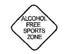 ALCOHOL FREE SPORTS ZONE