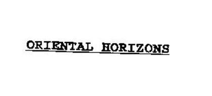 ORIENTAL HORIZONS
