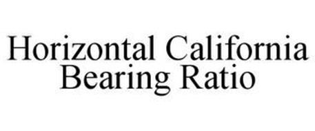 HORIZONTAL CALIFORNIA BEARING RATIO