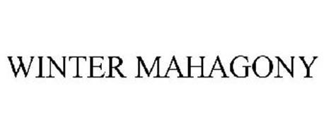 WINTER MAHAGONY