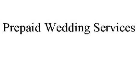 PREPAID WEDDING SERVICES