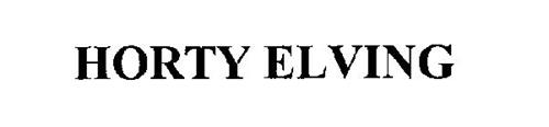HORTY ELVING