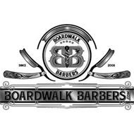 BOARDWALK BB BARBERS SINCE 2008 BOARDWALK BARBERS .COM