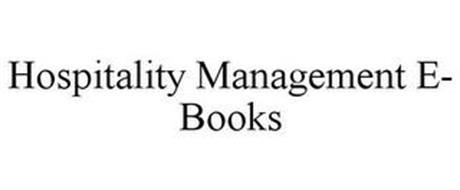 HOSPITALITY MANAGEMENT E- BOOKS