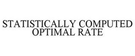 STATISTICALLY COMPUTED OPTIMAL RATE