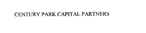 CENTURY PARK CAPITAL PARTNERS