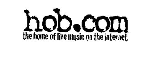 HOB.COM THE HOME OF LIVE MUSIC ON THE INTERNET