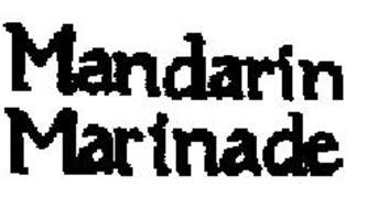 MANDARIN MARINADE