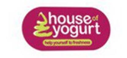 HOUSE OF YOGURT HELP YOURSELF TO FRESHNESS