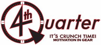 4TH QUARTER IT'S CRUNCH TIME! MOTIVATION IN GEAR