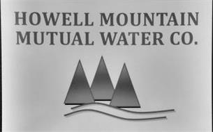 HOWELL MOUNTAIN MUTUAL WATER CO.
