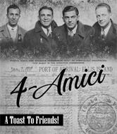 4-AMICI TOAST TO FRIENDS! SALOON, GABIN, AND STEERAGE PASSENGERS, MUST BE COMPLETELY  MANIFESTED. THIS IS FOR STEERAGE PASSENGERS. JAN.7, 1905 PORT OF ARRIVAL: ELLIS ISLAND