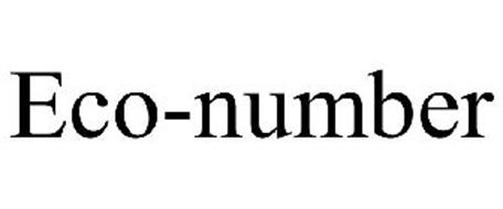 ECO-NUMBER