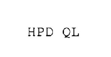 HPD QL