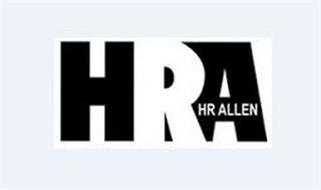 HRA HR ALLEN